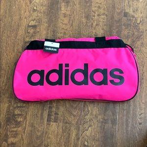 Adidas Diablo Small Duffel Bag Shock Pink/Black